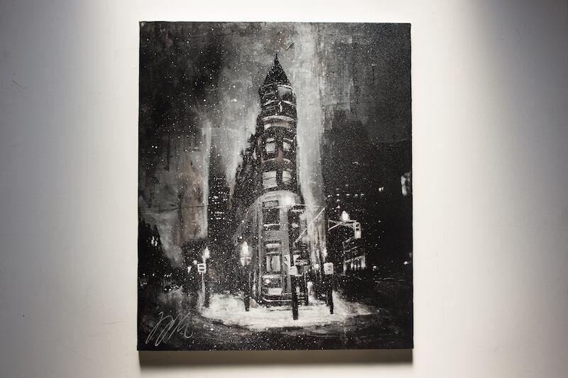 City scape composition #13 (額入り特別作品)