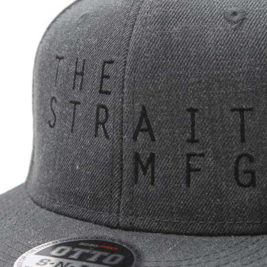TSM SNAPBACK CAP #BLACK X HEATHER