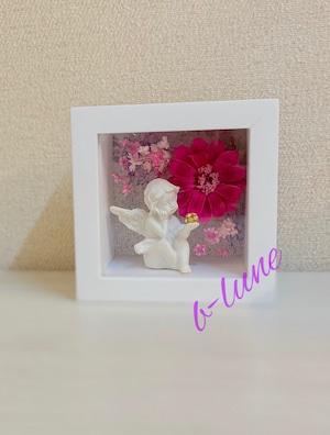 【花手作りキット】天使のキューブボックス