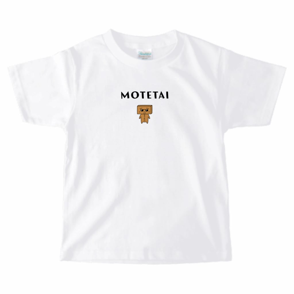 とうふめんたるずTシャツ(あつし先輩・キッズ)
