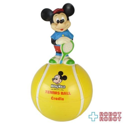 ミッキーマウス おきあがりこぼし テニスボール