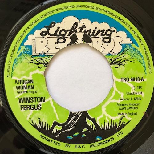 Winston Fergus - African Woman【7-20605】