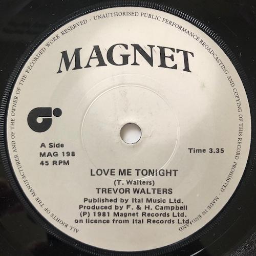 Trevor Walters - Love Me Tonight【7-20672】