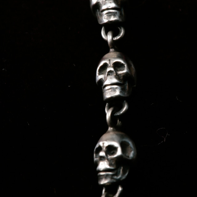 Small Skull Beads Necklace