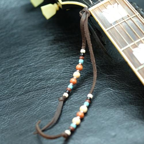 """【Guiter Head Tail】""""ギターヘッドテイル""""ウッディーブラウン"""