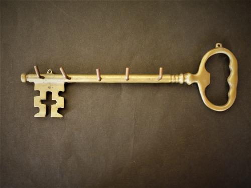 真鍮鍵型キーフック ウォールハンガー イタリア
