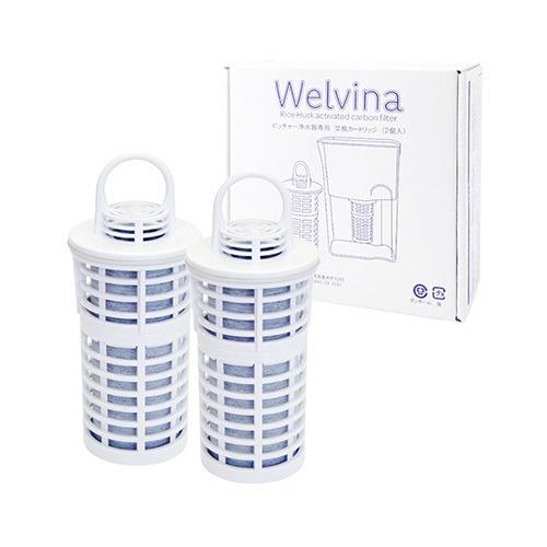 ピッチャー型浄水器カートリッジ1箱(2個)