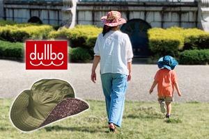 【2021年モデル】dullbo ダルボ All WeatherHat 〜全天候型帽子〜 デニム&フラワー