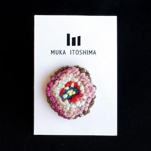 yukikoピンバッジ(桜餅)