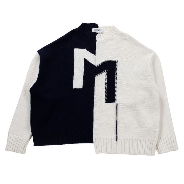 MONSE Bicolor Knit SIZE;XS