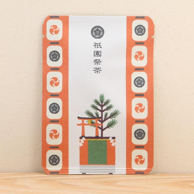 祇園祭茶(赤・提灯)|ごあいさつ茶