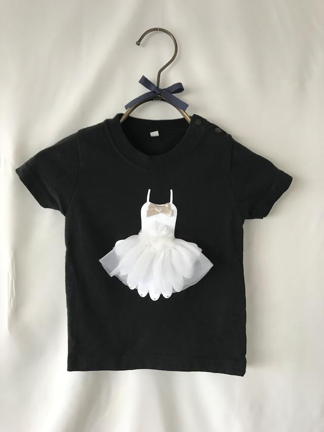 100㎝  バレリーナドレスTシャツ
