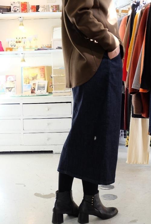 """パンツ屋がお届けする"""" 渾身の岡山デニム """"タイトスカート"""