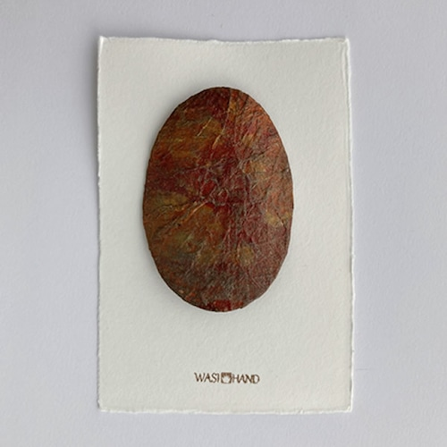 和紙のブローチ No.5432