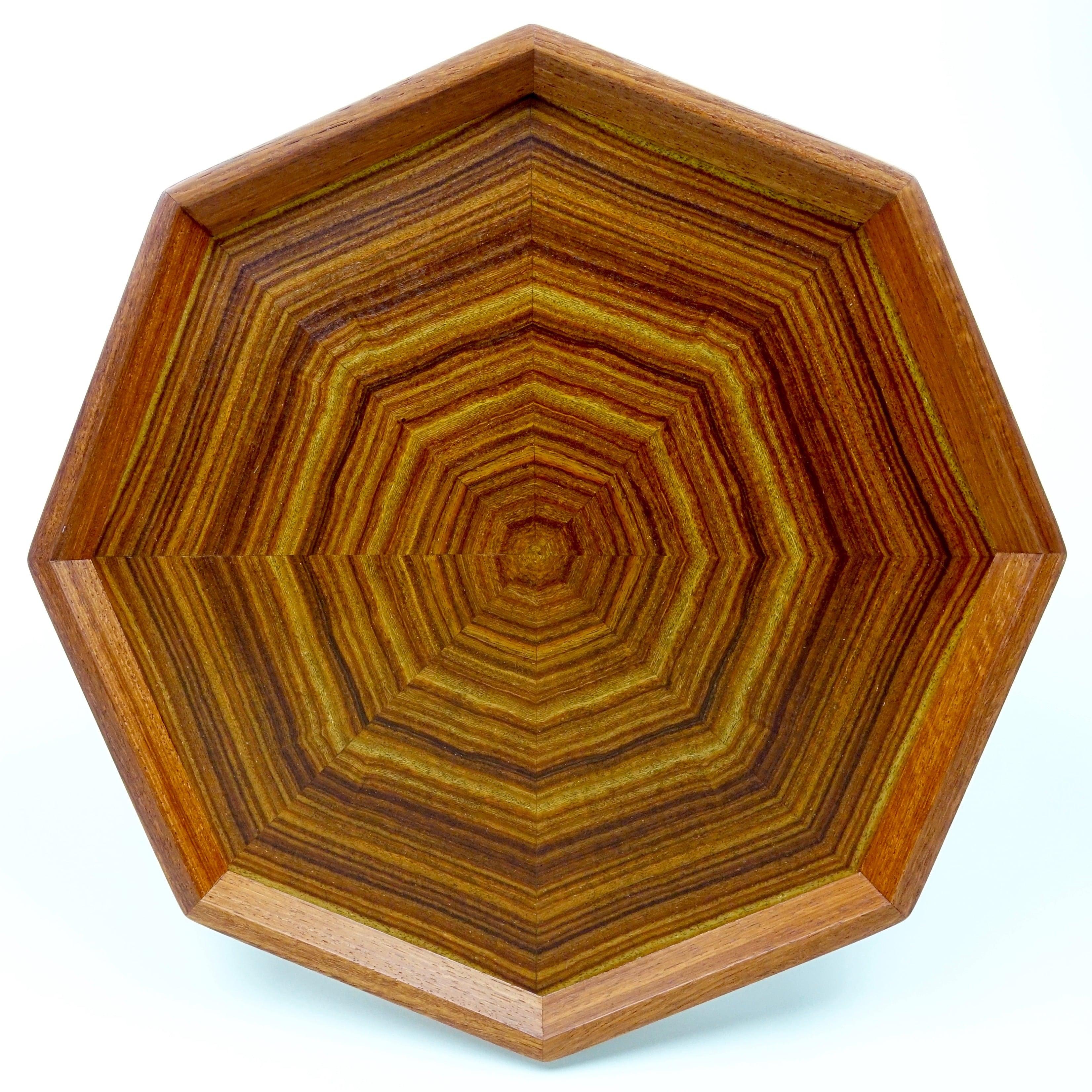 pao rosa 八角形のトレー OBPA-0172