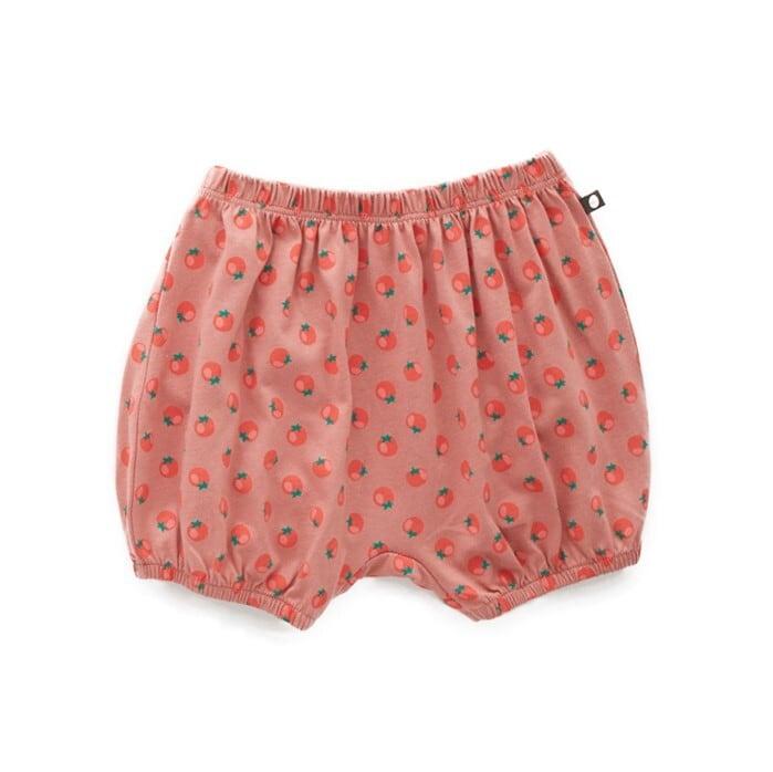 Oeuf bubble shorts / tomato