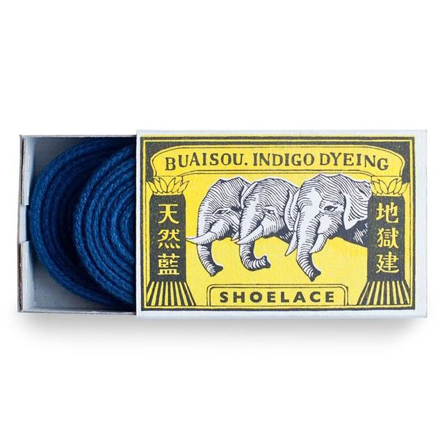 Buaisou Dark Indigo Shoelaces
