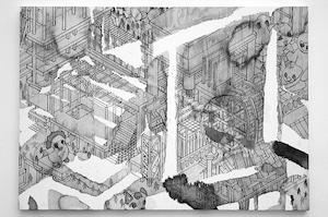 田口 薫「辺境の風景」