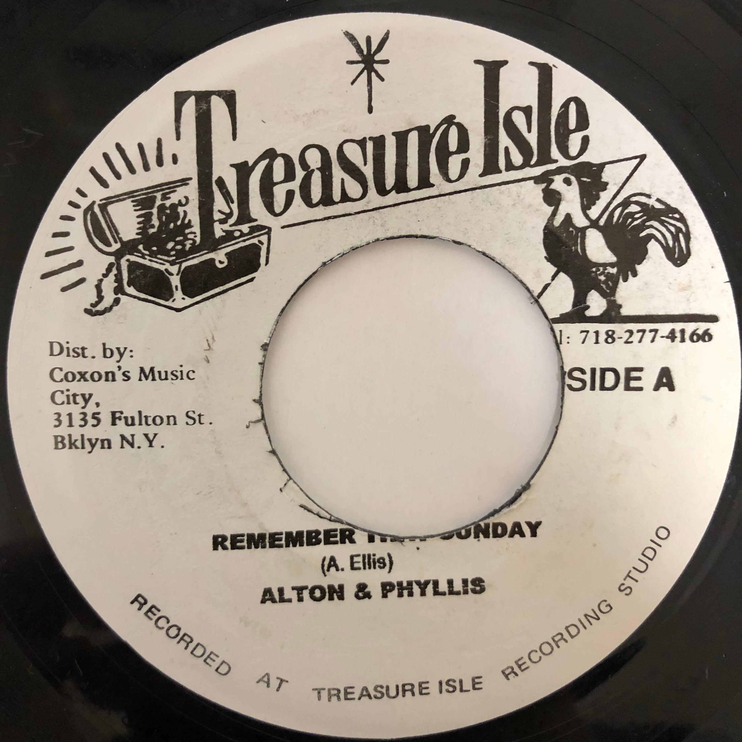 Alton Ellis - Remember That Sunday【7-20438】