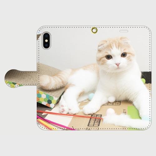 うなぎちゃんの手帳型iphoneスマートフォンケース/アンドロイドケース【送料無料】