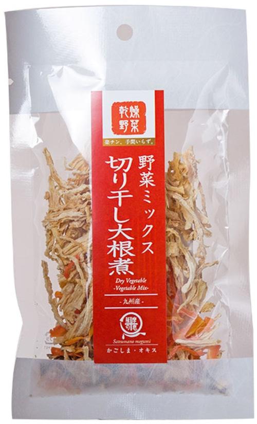 乾燥野菜ミックス 切干大根煮 15g【送料無料】