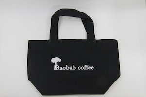 Baobabcoffeeキャンバストート ブラック
