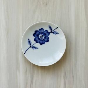 波佐見焼 WAZAN 和山窯 flowers 小皿 ラインフラワー 385834