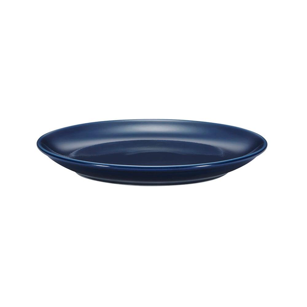 西海陶器 波佐見焼 「コモン」 プレート 皿 180mm ネイビー 13209
