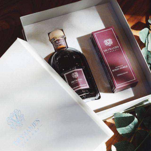 【数量限定】Dr. Vranjes GIFT BOX 250C(250 ml ディフューザー + 50 ml ハンドクリーム)