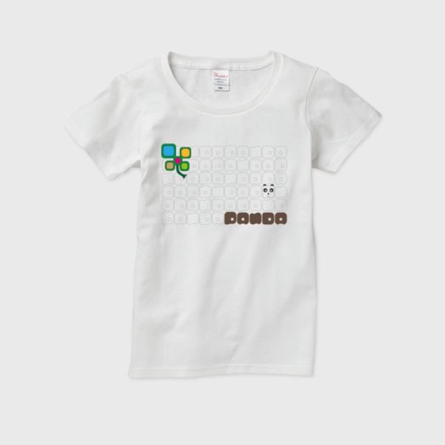 キューブパンダレディースTシャツ レディースTシャツ