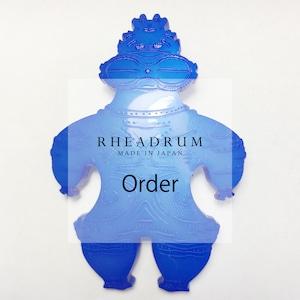 Order 青い土偶 ブローチ