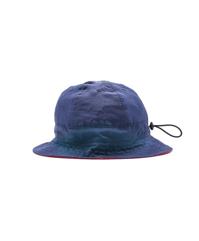 POP TRADING COMPANY REVERSIBLE BELL HAT NAVY/RED