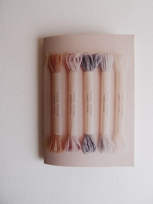 Sunny thread book オーガニックコットン 刺繍糸 ブックレット
