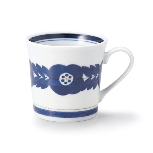 aito製作所 「ブロッサム blossom」青い花のうつわ マグカップ 320ml 美濃焼 111005