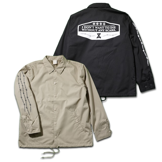 Barbed wire Coach jacket