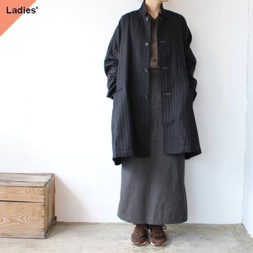 SETTO セット MARKET JKT ウールストライプマーケットジャケット STL-JK0087 ブラック