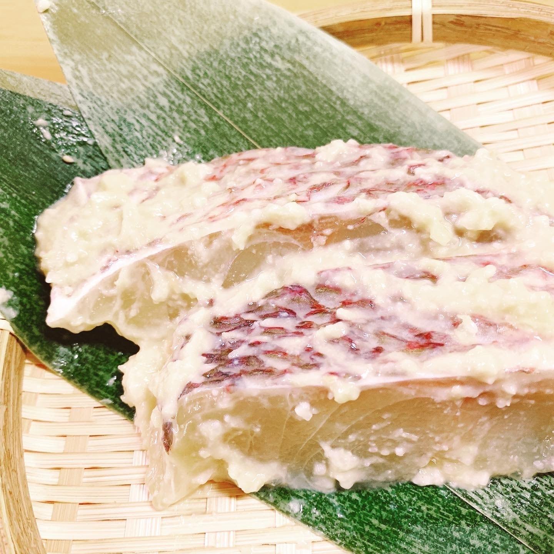 【グリルで簡単!】天草産 真鯛の西京漬け (70g×5パック)