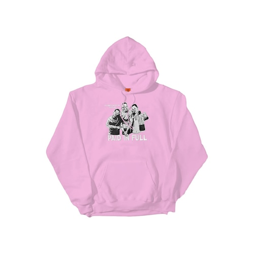 Cold World Frozen Goods|PAID IN FULL HOODIE (CAM'RON PINK)