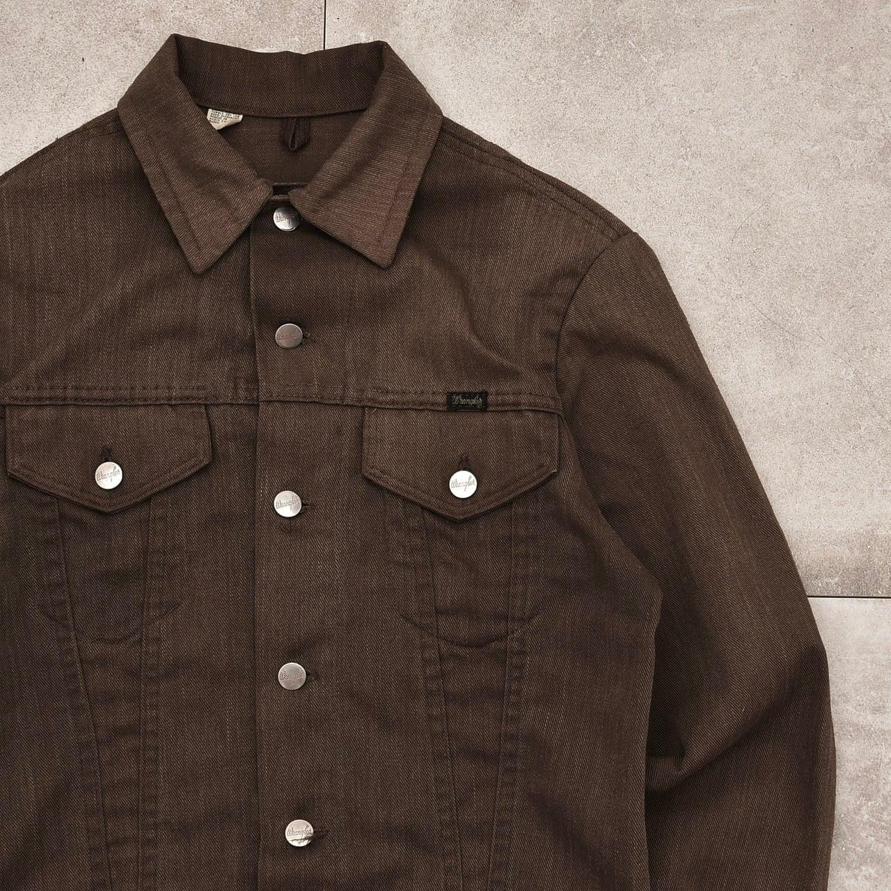 70's Wrangler 3rd type tracker jacket Made in USA
