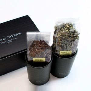 Salon de TAVERN TEA SET / Cacao + Lemmongrass Brand