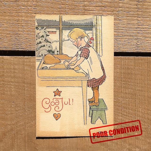 クリスマスカード「Elsa Beskow(エルサ・ベスコフ)」《210213-05》