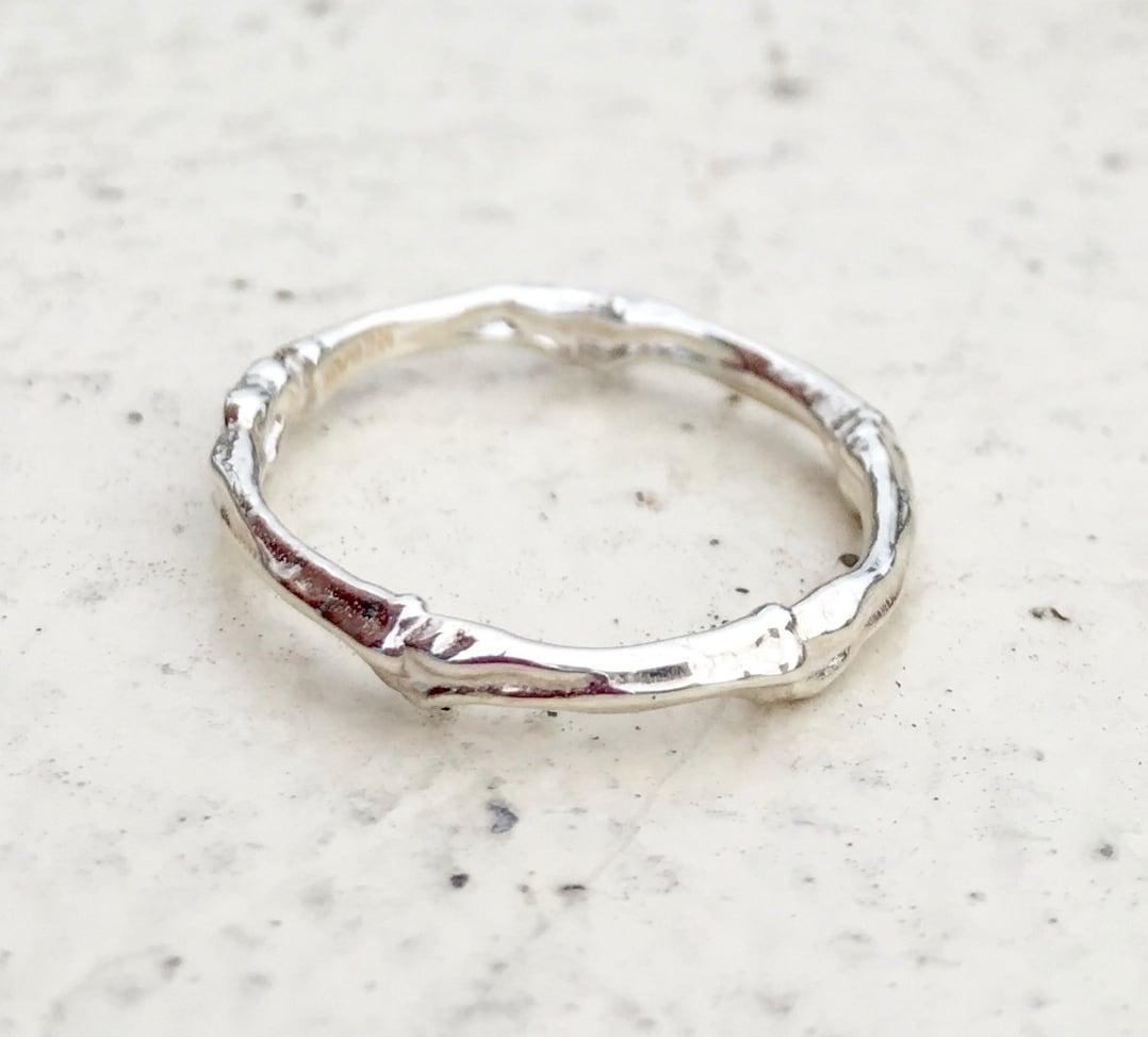 bone ring  SILVER925 #01011-sv 骨リング/シルバー925