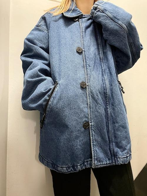 90's BUGLE BOY 中綿デニムジャケット