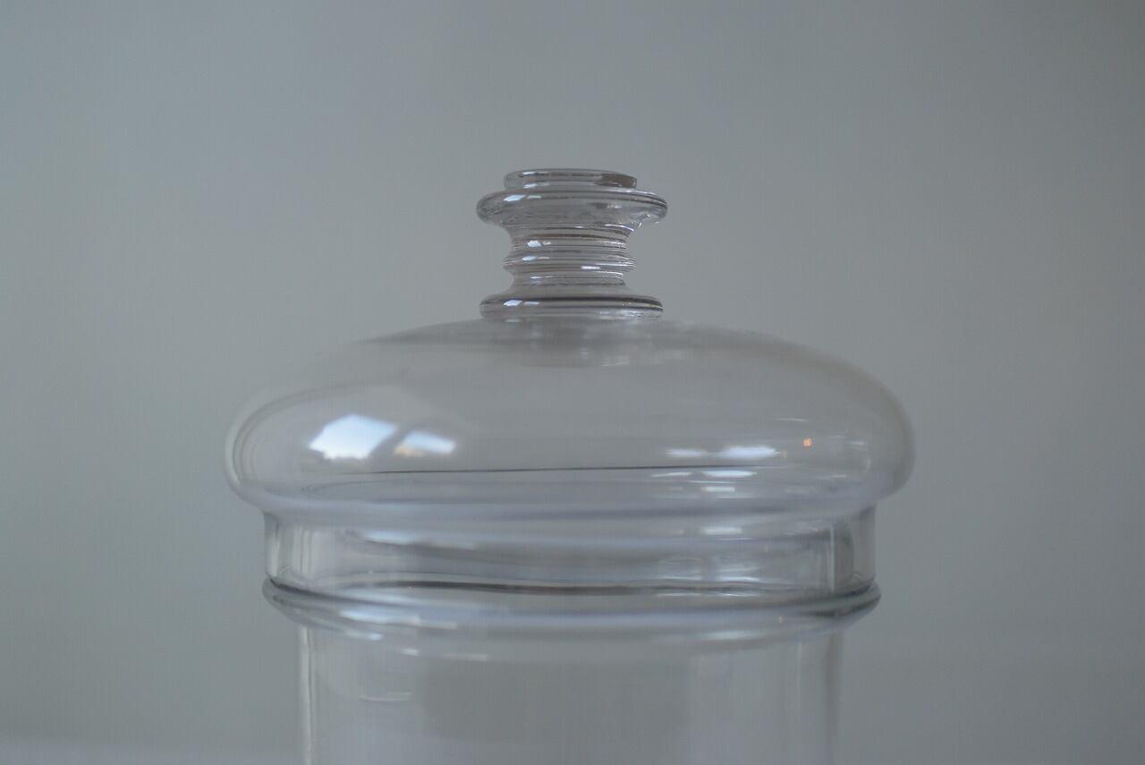 フランスアンティーク 吹きガラスの瓶