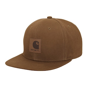 Carhartt (カーハート) LOGO CAP - Hamilton Brown