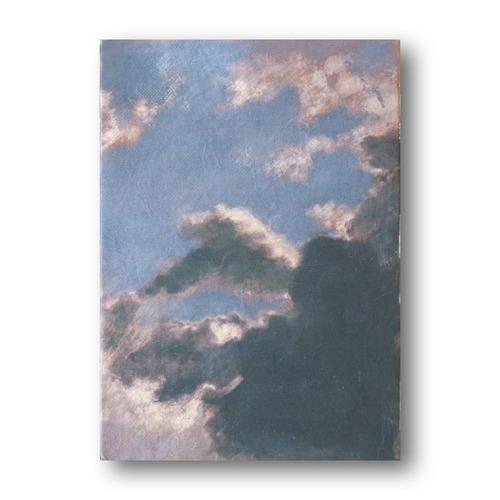 【送料無料】絵画作品タイトル「夏-雨前-」キャンバス すぐに飾れる 購入後すぐに飾れるpaintings, fine art
