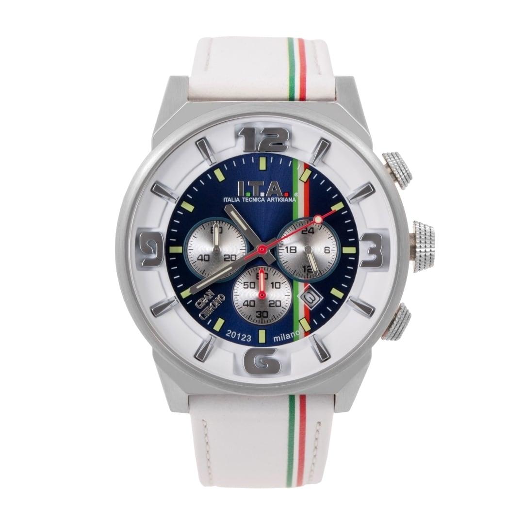 【I.T.A. アイティエー】GRAN CHRONO グランクロノ(ビアンコ)/国内正規品 腕時計