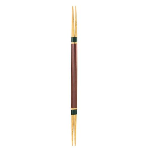 白竹両面取り箸・茶 【47-137】