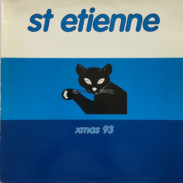 【12inch・英盤】Saint Etienne / Xmas 93
