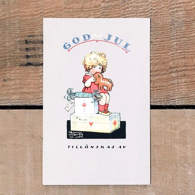 クリスマスカード「Maj Lindman Jan(マイ・リンドマン・ヤーン)」《200222-10》